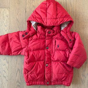 Ralph Lauren Polo Kids Puffer Down Coat